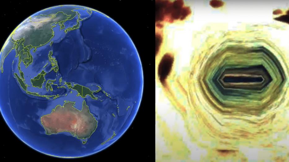 A férfi azt állítja, megtalálta az űrlények titkos búvóhelyét a Földön. /Fotó: ET Data Base - YouTube
