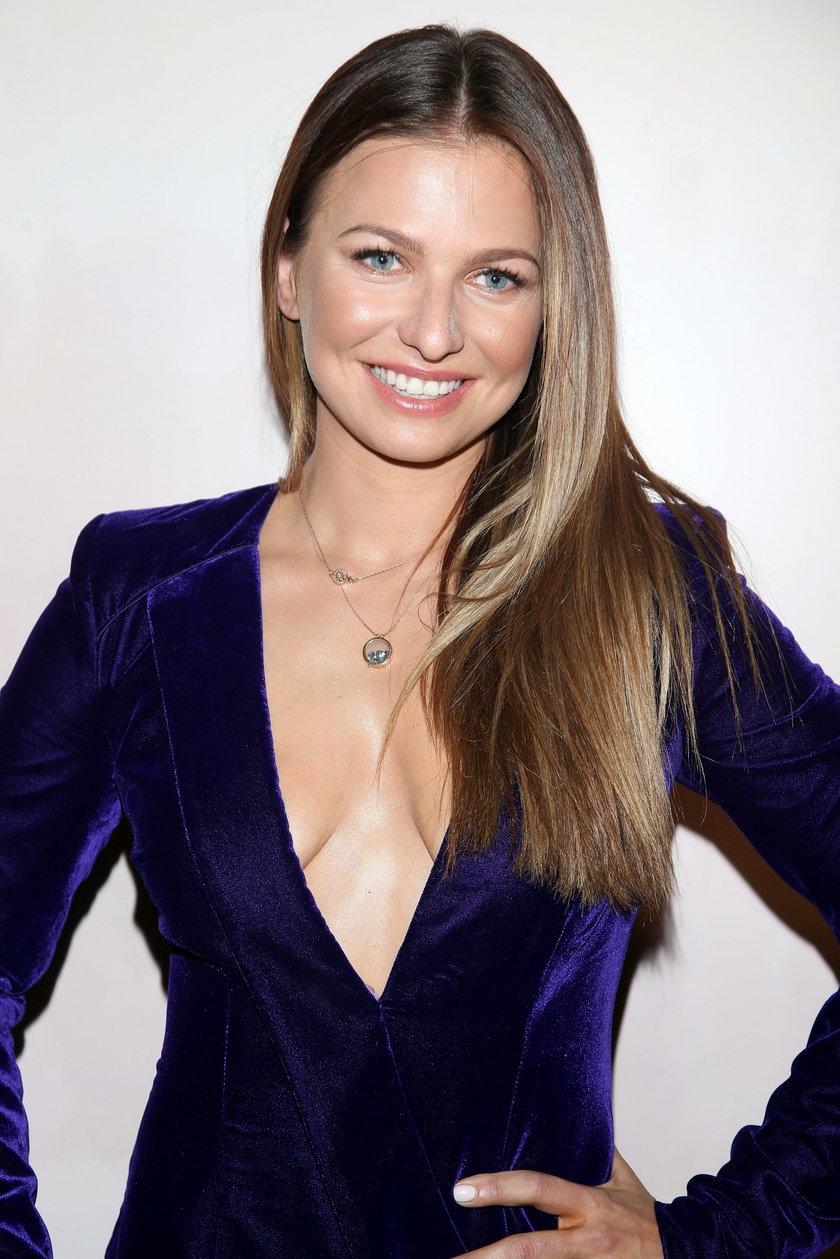 Anna Lewandowska - wraz z mężem Robertem zadebiutowała w rankingu