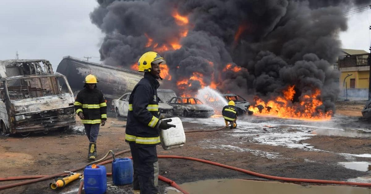 Death toll in Ijegun pipeline explosion rises as additional 6 victims confirmed dead - Pulse Nigeria