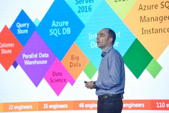 Dragan Tomic, Razvojni centar Microsofta u Srbiji