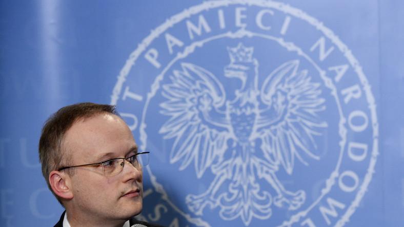 Prezes Instytutu Pamięci Narodowej Łukasz Kamiński