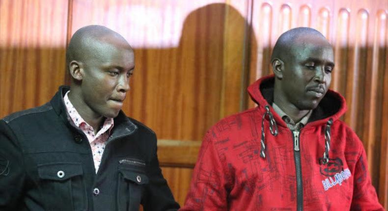 Constables William Chirchir and Godfrey Kirui found guilty of killing Janet Wangui Waiyaki at City Park
