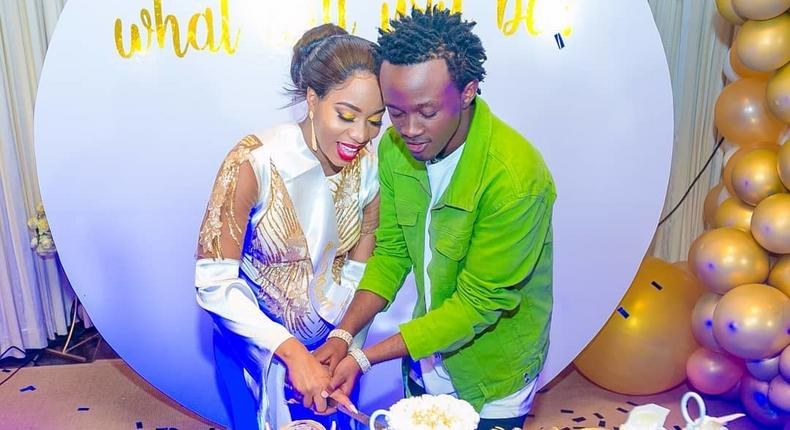 Bahati's reaction after Diana Marua asked for Sh1.1 Million baby shower