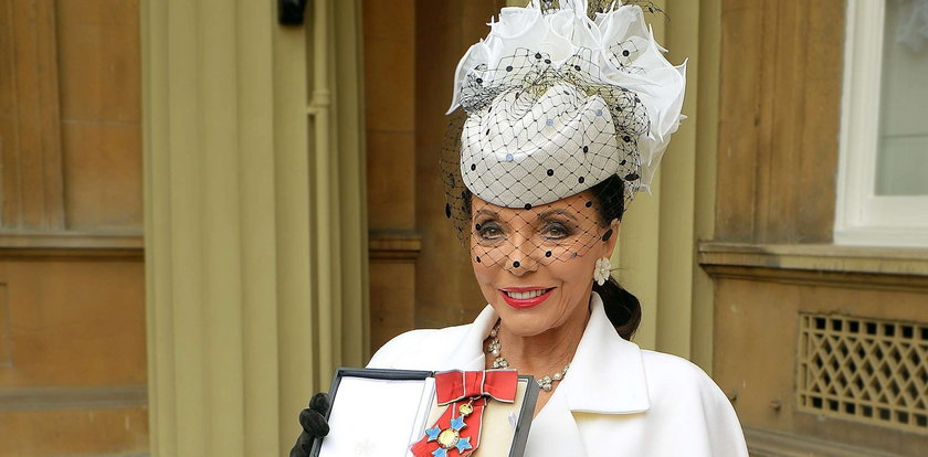 """Czy to królowa? Nie, to Alexis z """"Dynastii"""""""