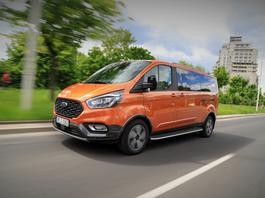 Ford Tourneo Custom Active – bus nie musi być nudny