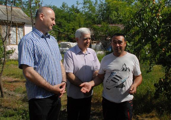 Aduš Avdo, Stevan Nikolić i dr Nenad Ivanišević