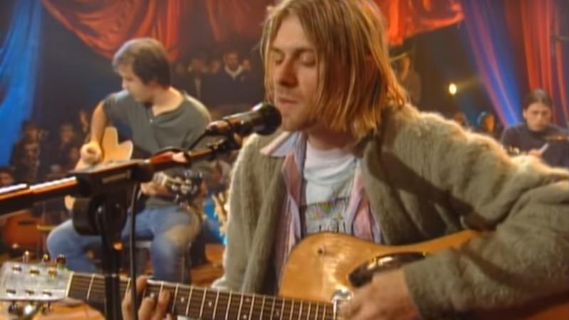 "Nirvana w ""MTV Unplugged"""
