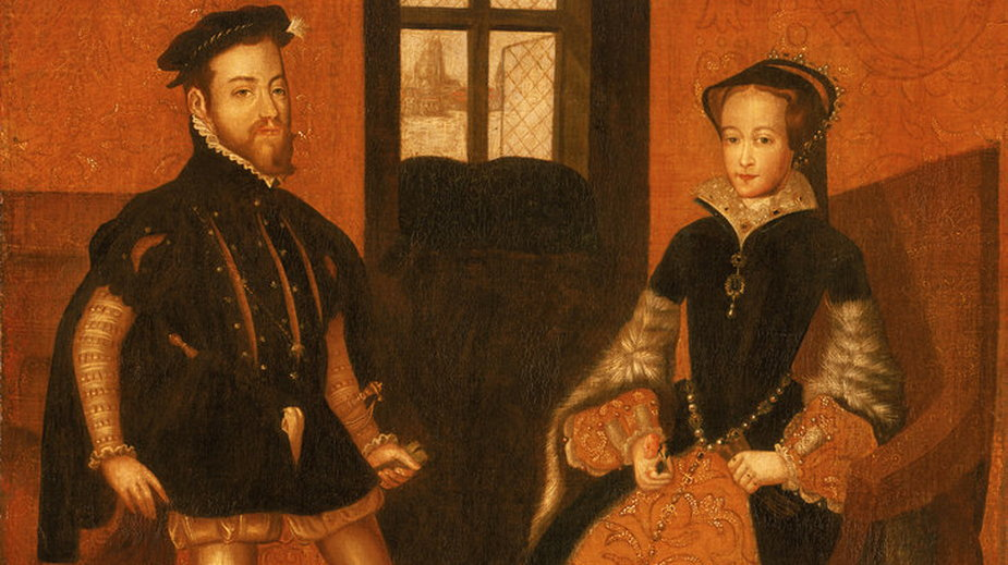Felipe of Spain and Maria Tudor (Royal Museums Greenwich)