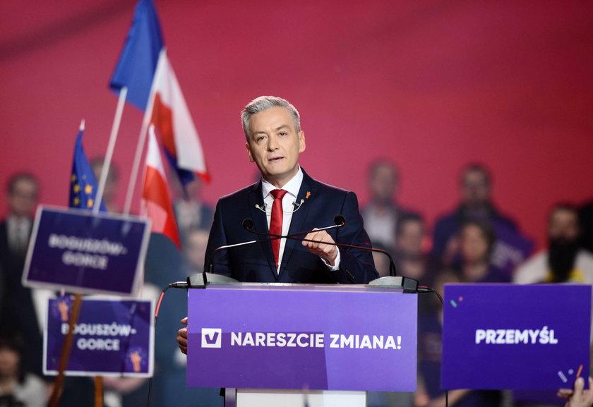 Mocne słowa Biedronia o  Kaczyńskim