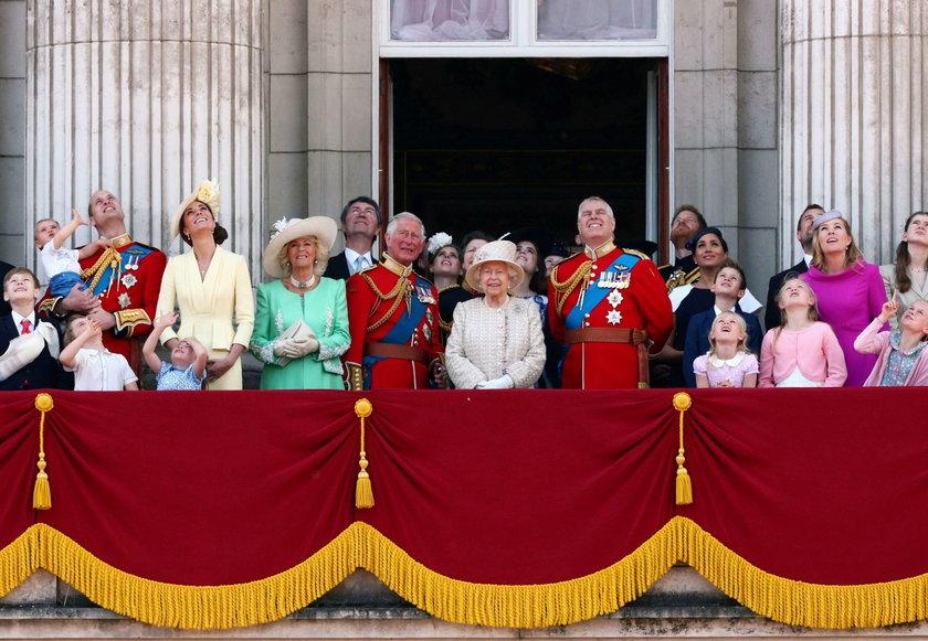 Brytyjska rodzina królewska w 2019 roku