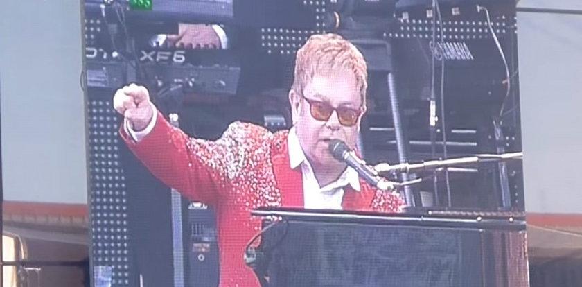 Elton John wpadł w szał na koncercie!