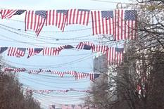 Amerika, Zastave, Priština, Kosovo