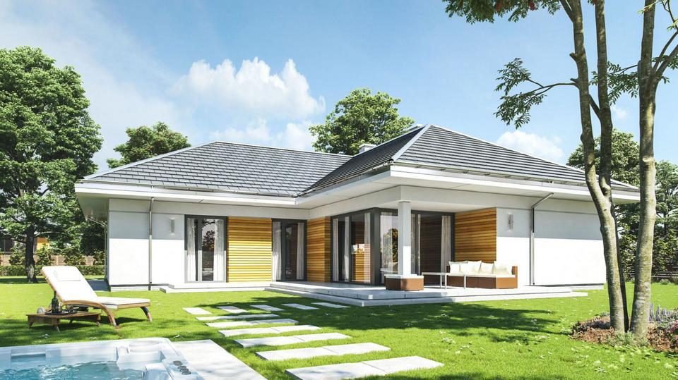 Piękny dom parterowy. Zobacz, jak z klasą i bez zbędnej przesady można urządzić 120 metrów