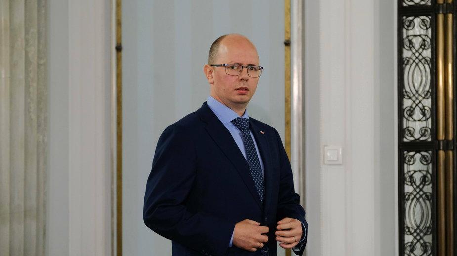 Błażej Kmieciak - prezes komisji