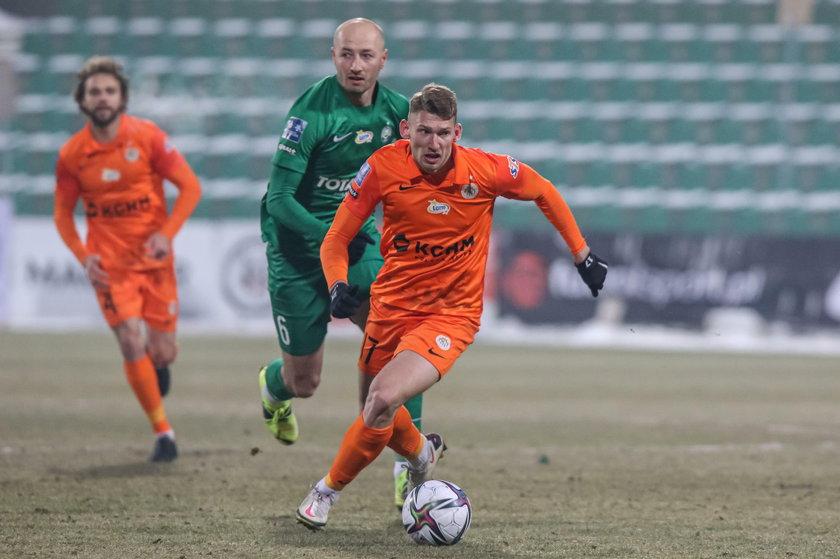 Trzy mecze, trzy gole - na taką serię w ekstraklasie czekał, odkąd w 2019 roku trafił do Lubina.