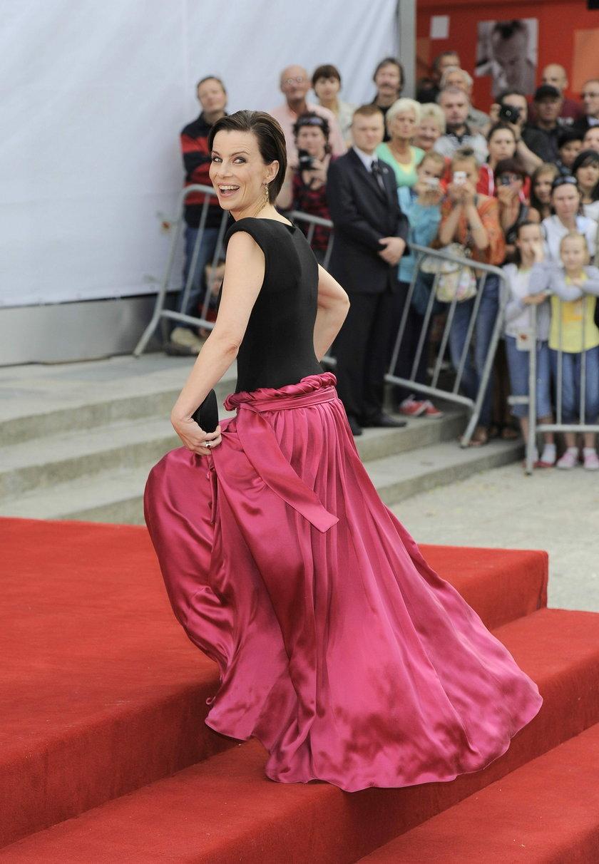 Agata Kulesza w sukni od Stefano Terrazino