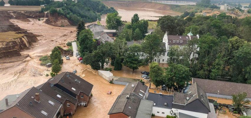 Wstrząsające FILMY z powodzi w Niemczech! Widać na nich siłę żywiołu