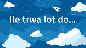 Ile trwają loty z Polski? Jakie są najdłuższe połączenia lotnicze? [INFOGRAFIKA]