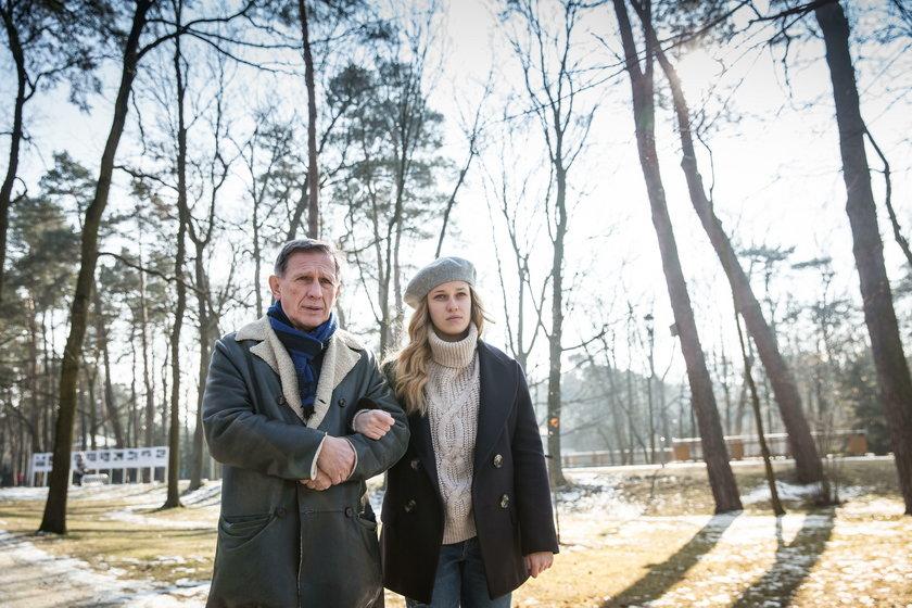 Helena Englert z ojcem