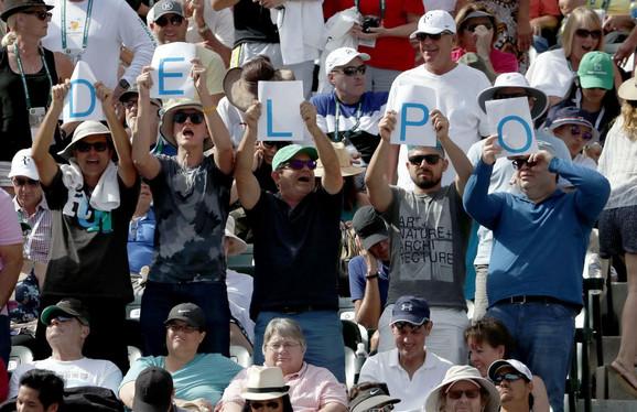 Del Potrovi navijači u finalu Indijan Velsa