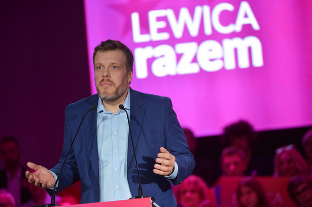 Adrian Zandberg Lewica Razem