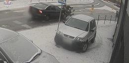 19-latek potrącił na pasach dwie nastolatki i uciekł [WIDEO]