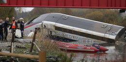 Maszynista wykolejonego TGV zapewnia, że nie jechał za szybko