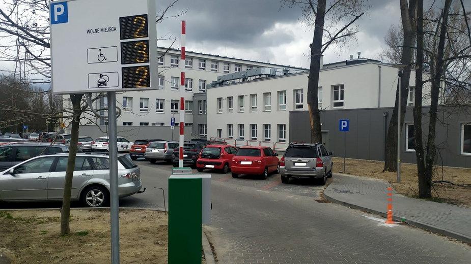Parking pod Szpitalem Uniwersyteckim w Zielonej Górze