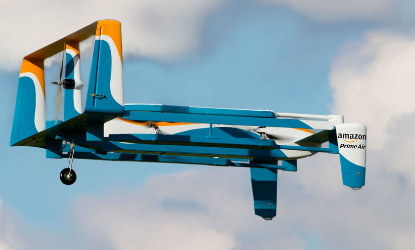 Dron firmy Amazon