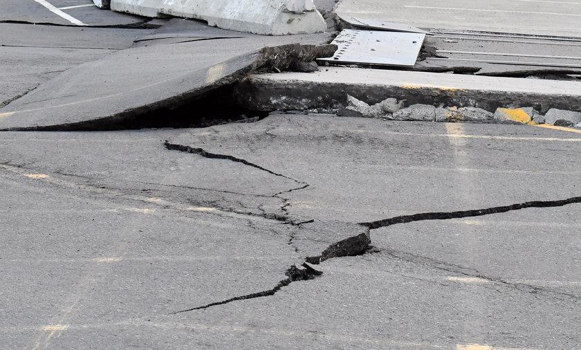 Silne trzęsienie ziemi w Chinach