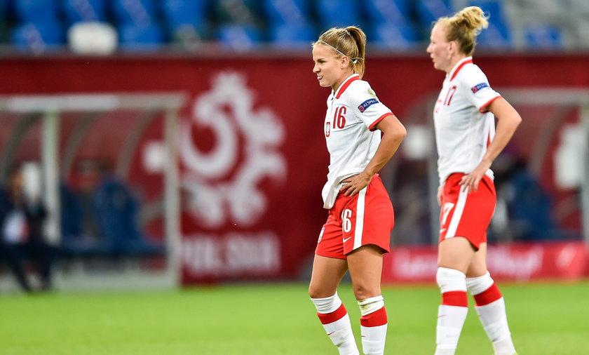 Piłkarki żeńskiej reprezentacji Polski