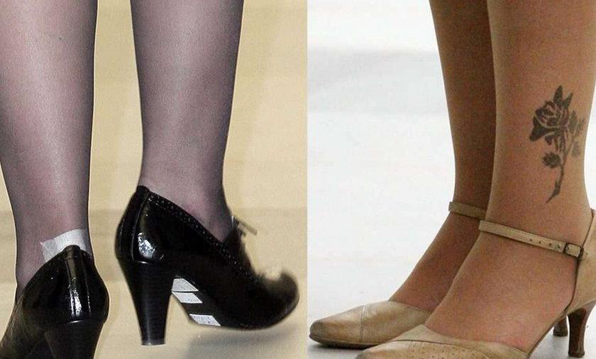 Szczypińska lansuje się w nowych butach. FOTO
