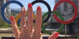 Piękna polska zawodniczka zaręczyła się w Rio