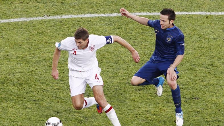 Steven Gerrard i Yohan Cabaye