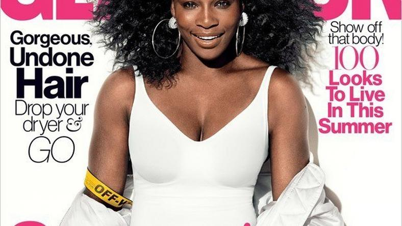 Serena Williams for Glamour Magazine July 2016 cover feature