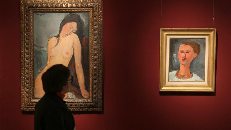 Prace Modiglianiego