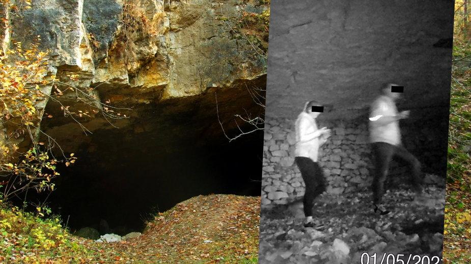 Mimo zakazu turyści wchodzą do Jaskini Szachownica