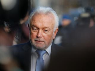 Wolfgang Kubicki of Free Democratic Party arrives at Christian Democratic Union (CDU) headquarters i