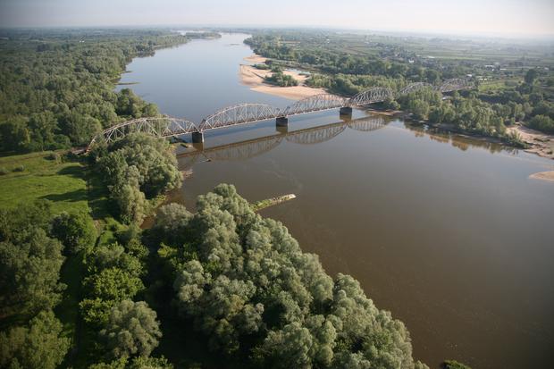 Most Kolejowy na Wiśle, Góra Kalwaria
