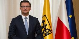 Prezydent Katowic miał wypadek na motocyklu. Uderzył w niego samochód