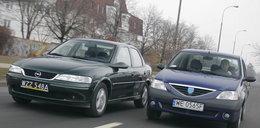 Opel Vectra B kontra Dacia Logan