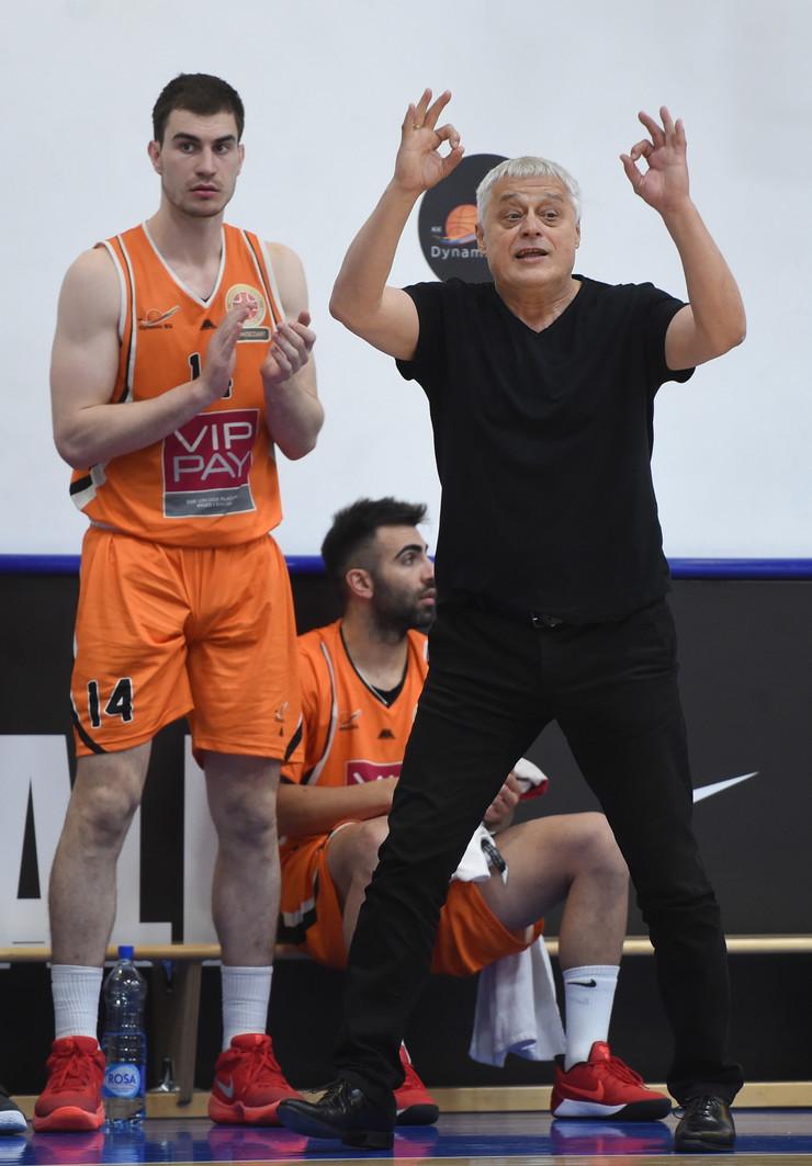 KK Dinamik, KK Partizan