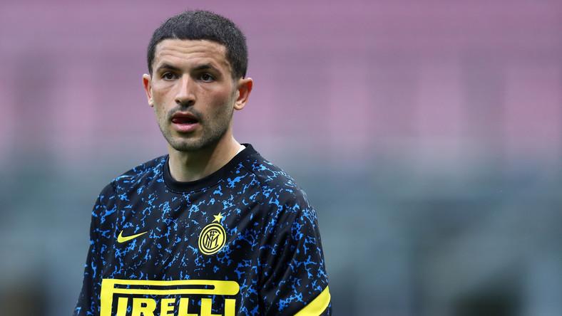 Stefano Sensi w barwach Interu Mediolan