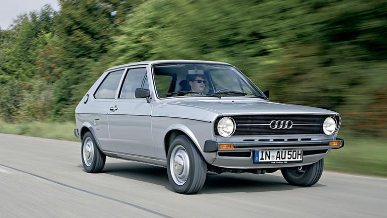 Audi 50 - klasyk, który wyprzedził Golfa
