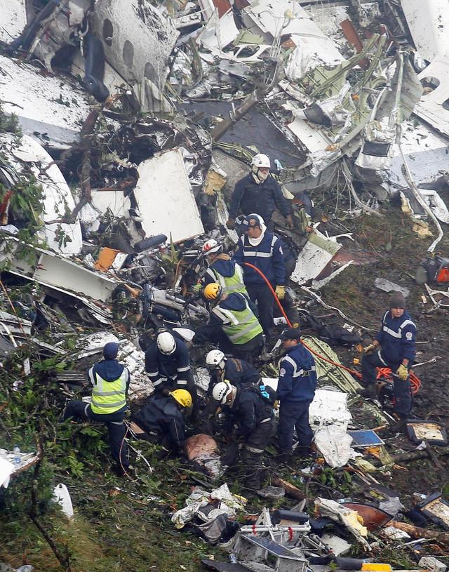 U padu aviona u Kolumbiji poginula je 71 osoba