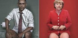 Skandal z Merkel i Putinem w toalecie!