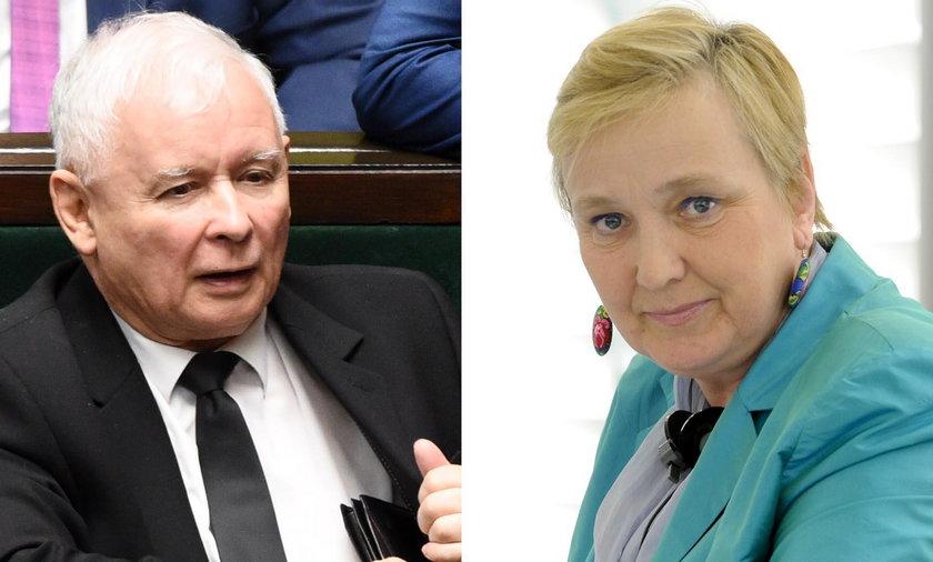 Rodzinne więzy Kaczyńskiego i Thun