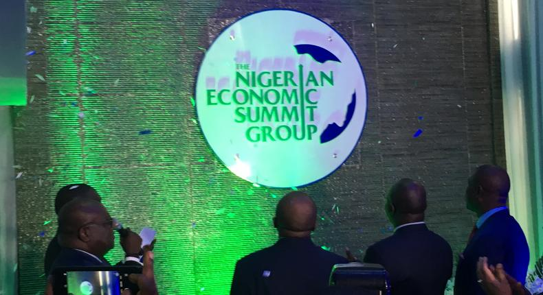 Unveiling of the new NESG brand identity at The Summit House, Ikoyi, Lagos, July 10, 2019 (Business Insider SSA)