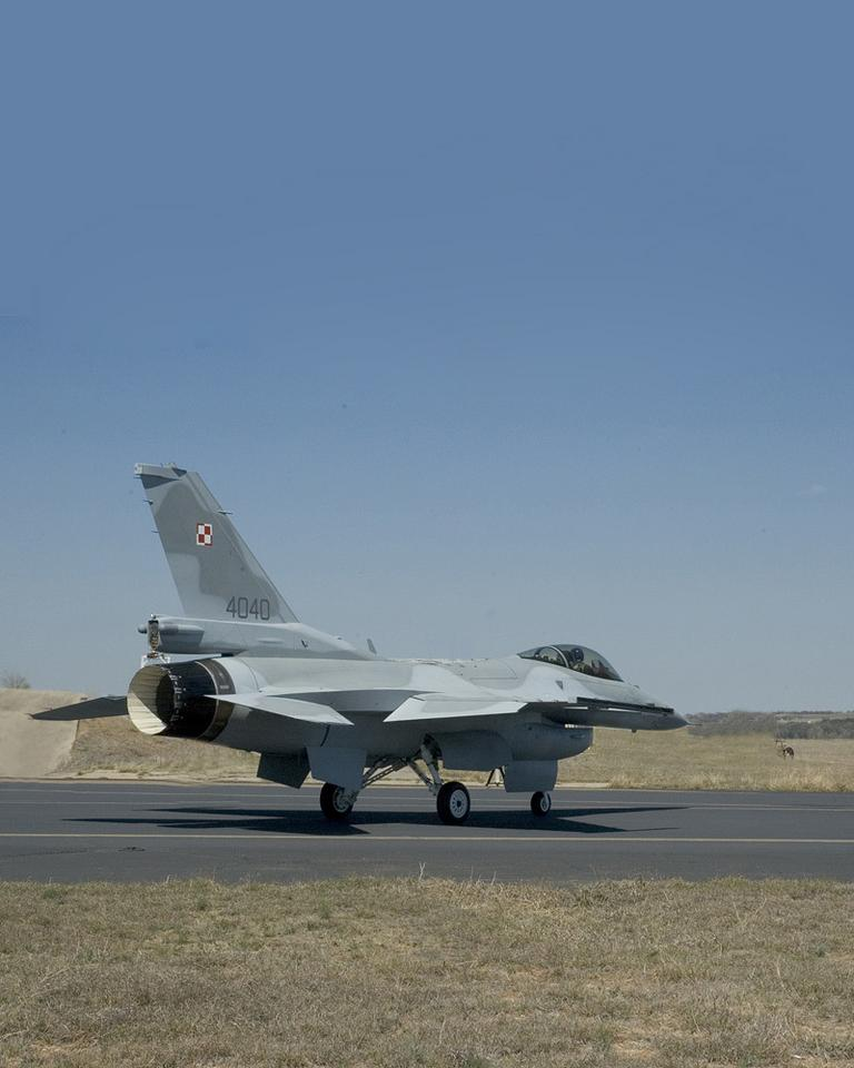 Poland F-16 First Flight 8