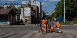 Po interwencji Faktu łatają ulicę Kilińskiego
